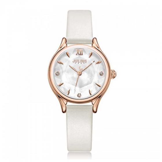 Đồng hồ nữ Julius Hàn Quốc JA-1154B (trắng)