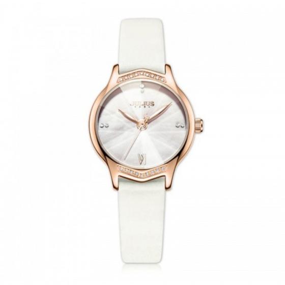 Đồng hồ nữ Julius Hàn Quốc JA-1155 dây da