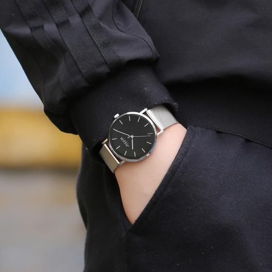 Đồng hồ nam Julius Hàn Quốc JA-1164M dây thép