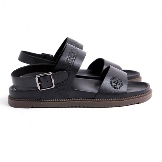 Dép sandal nam da bò nguyên tấm cao cấp M03D Lucacy