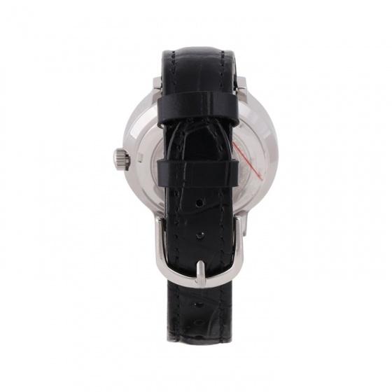 Đồng hồ nữ chính hãng Royal Crown 3638 dây da đen vỏ trắng