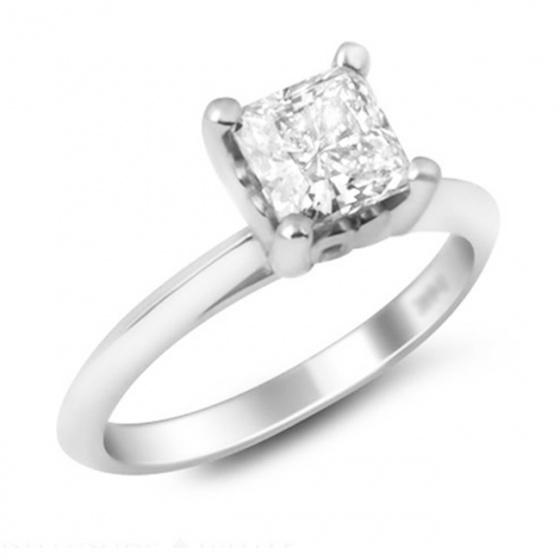 Trang sức vàng trắng đá kim cương nhân tạo - VTRG0727