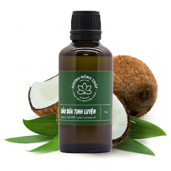 Dầu Dừa nguyên chất 50mL