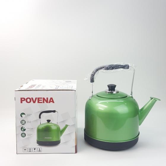Ấm điện Povena PVN-52 xanh ngọc (5 lít)
