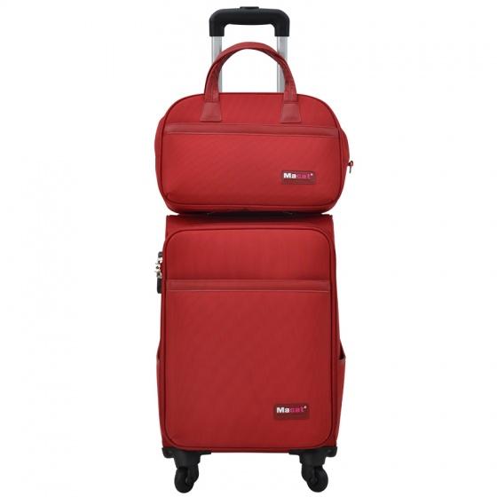Vali du lịch Macat M18BC Size 20' - Đỏ