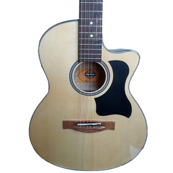 Đàn guitar Acoustic guitar DVE70J NAT + Bao da