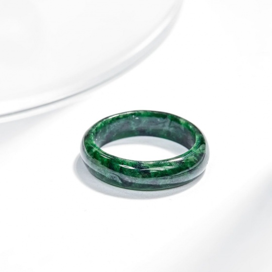 Nhẫn cẩm thạch sơn thủy AAA nữ Ngọc Quý Gemstones