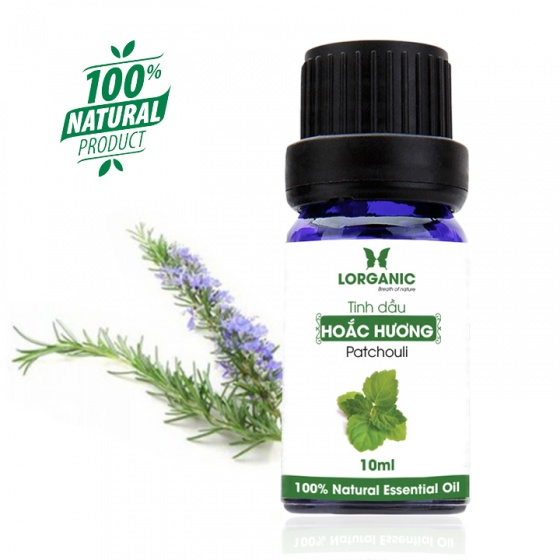 Tinh dầu hoắc hương Lorganic Patchouli 10ml