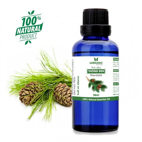 Tinh dầu gỗ thông đen Lorganic Pine black 50ml