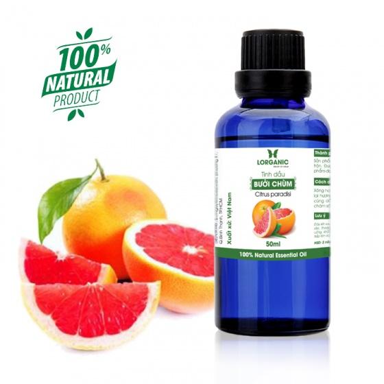 Tinh dầu bưởi chùm Lorganic Citrus paradisi 50ml