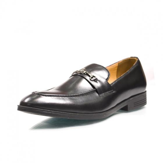Giày tây nam da bò - Hàng việt Geleli bảo hành 1 năm