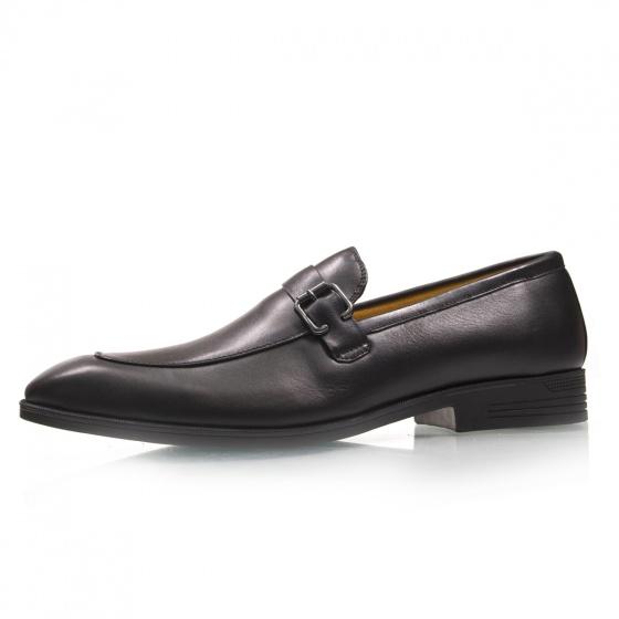 Giày tây nam giày lười da bò thật - Bảo hành 1 năm chính hãng Geleli