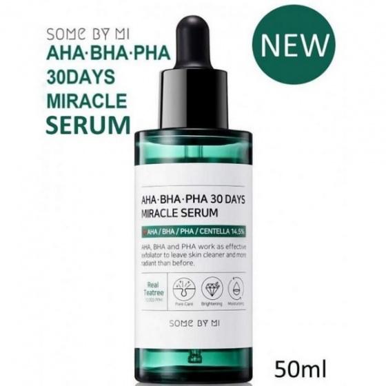 Serum trị mụn thần kỳ AHA-BHA-PHA SOME BY MI 50ml