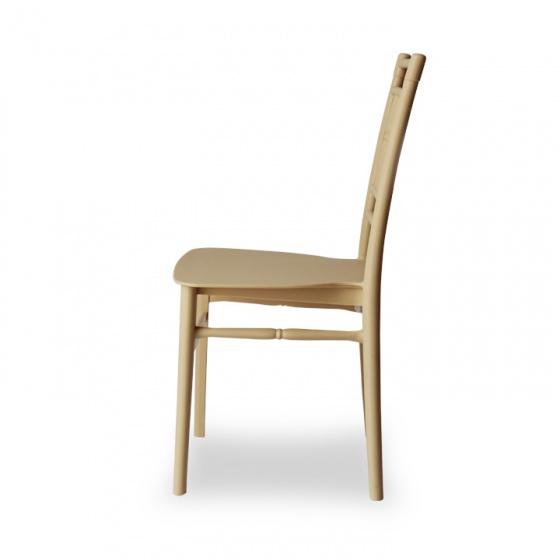 Ghế nhựa phòng ăn cafe cao cấp Furnist Bamboo