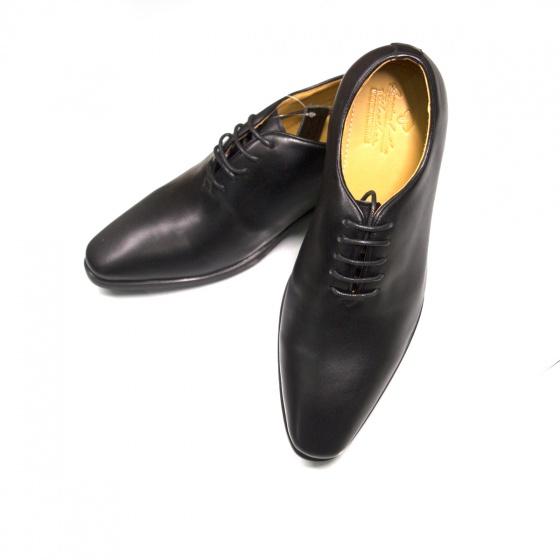 Giày tăng chiều cao nam - Da bò - Chính Hãng Geleli