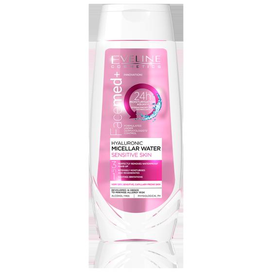 Nước tẩy trang dưỡng ẩm Facemed dành cho da khô và nhạy cảm 250ml