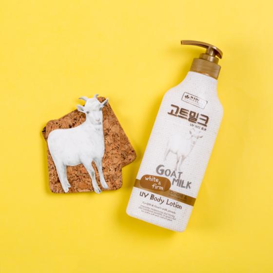 Dưỡng thể chiết xuất từ sữa dê Made In Nature 450ml