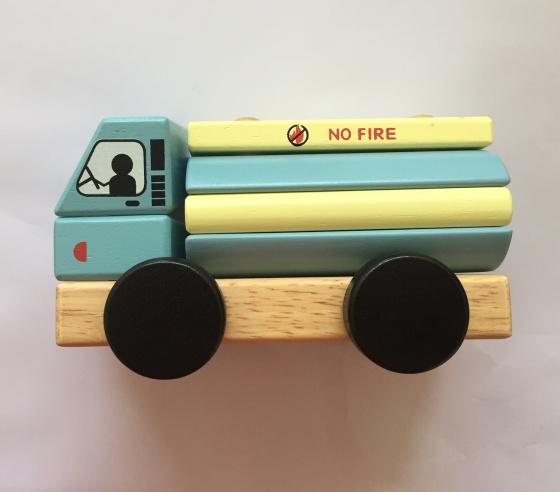 Đồ chơi Xe bồn lắp rắp gỗ – 30231