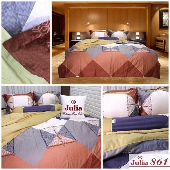 Bộ chăn ga gối lụa tencel tơ tằm Hàn Quốc Julia siêu mát mịn (bộ 5 món có chăn chần) 861BG16