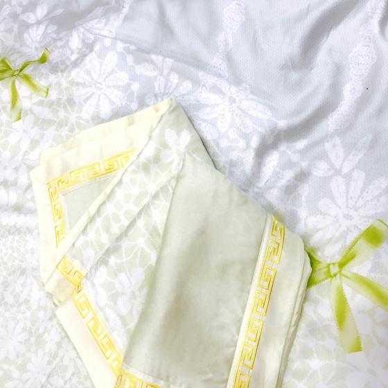 Bộ chăn ga gối lụa tencel tơ tằm Hàn Quốc Julia siêu mát mịn (bộ 5 món chần gòn) 850BC16