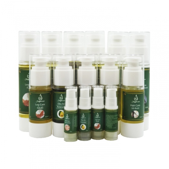 Serum dưỡng tóc dầu mắc ca tinh dầu vỏ bưởi 100% thiên nhiên Julyhouse 50ml