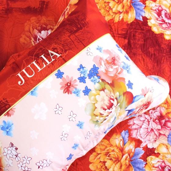 Bộ chăn ga gối 5 món lụa tencel Hàn Julia  494BG18