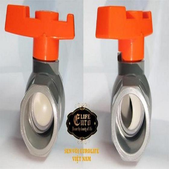 Bộ 5 van PVC 27 Eurolife EL-V27 (Xám - Cam)