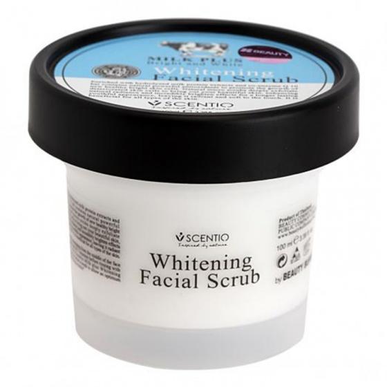 Tẩy tế bào chết da mặt trắng và trẻ hoá da Scentio Milk Plus 100ml