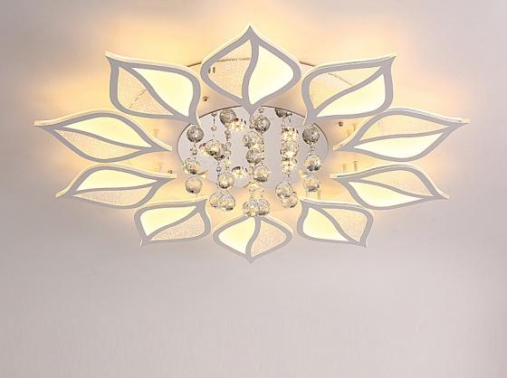 Đèn mâm ốp trần pha lê 07 - OP07-10 - Đèn trang trí Homelight