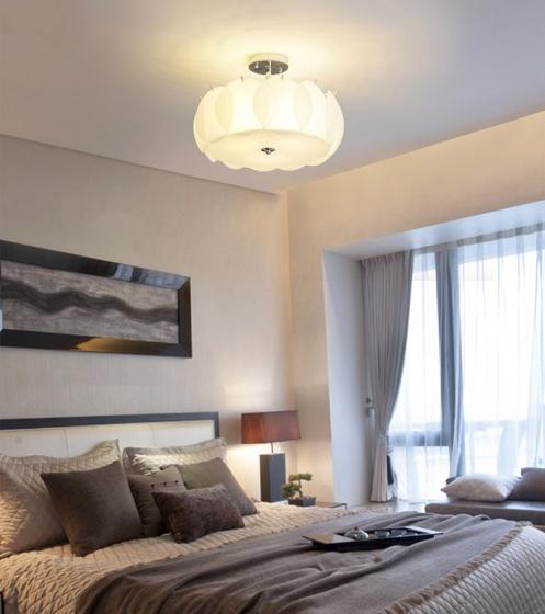 Đèn mâm ốp trần pha lê 015 - OP015 - Đèn trang trí Homelight