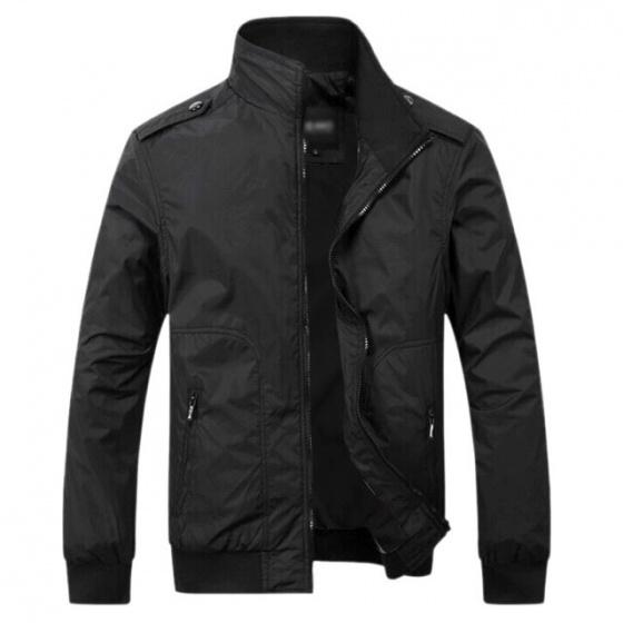 Áo khoác dù nam Bonado BAK25 đen
