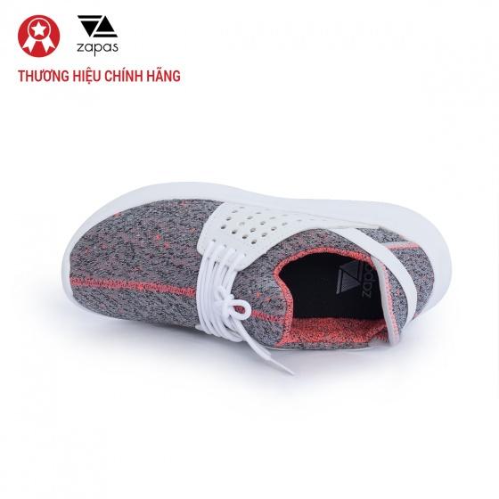 Giày nữ, giày thể thao sneaker Zapas năng động cá tính siêu nhẹ thoáng khí - ZR013 (xám)