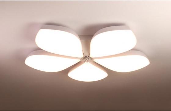 Đèn mâm ốp trần Led hoa 5 cánh OP3M1-86 - Đèn trang trí Homelight