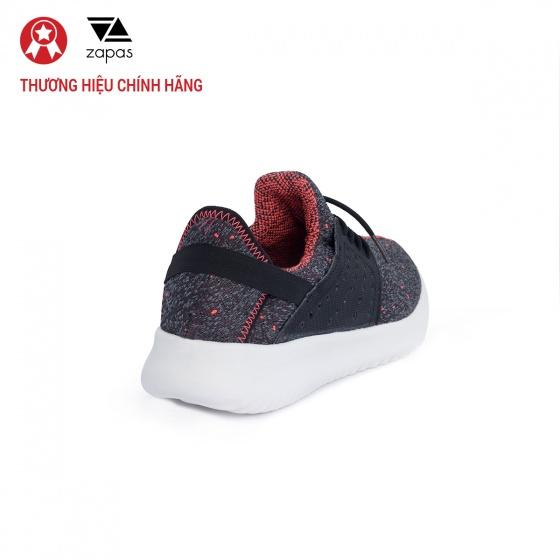 Giày nữ, giày thể thao sneaker Zapas năng động cá tính siêu nhẹ thoáng khí - ZR013 (đen)