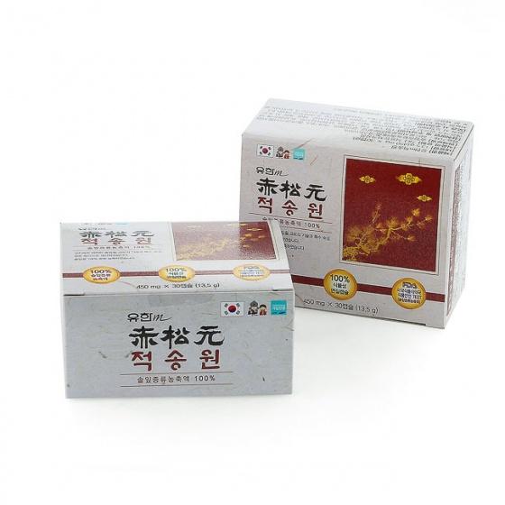 Tinh dầu thông đỏ Yuhan M Redpine (Hộp/60 viên)