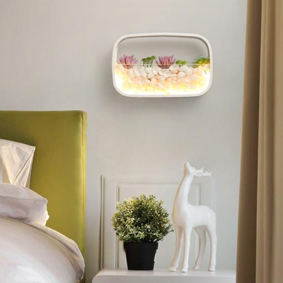 Đèn treo tường Led - Đèn tường trang trí Có tiểu cảnh - Gắn tường Phòng khách, Phòng ngủ - DTLC010