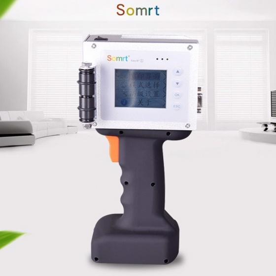 Máy in date mini cầm tay Promax Somrt Easy' in logo, in mã vạch độ phân giải 600DPI có Bluetooth