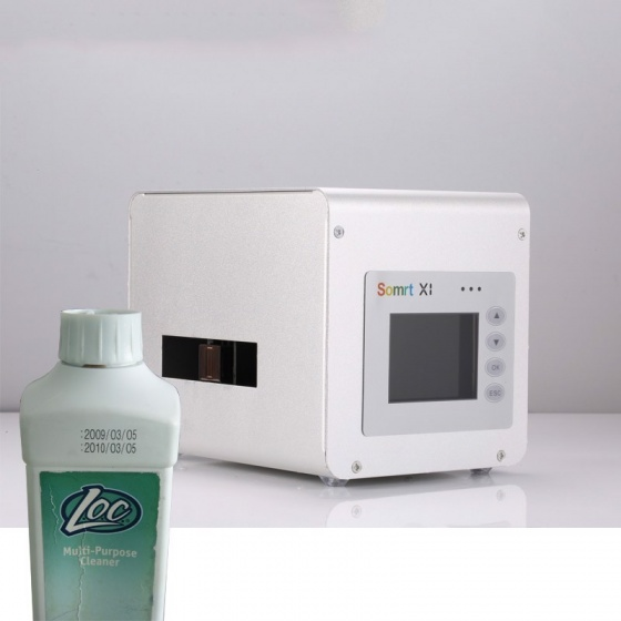 Máy in date cầm tay mini Promax Somrt X1 in logo, in mã vạch, in hạn sử dụng trên mọi chất liệu