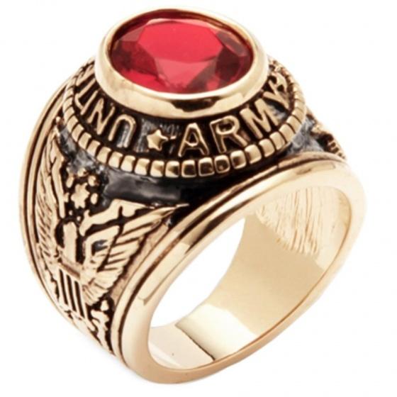Nhẫn bạc Mỹ mạ vàng 14k đá ruby tự nhiên - NNAM302