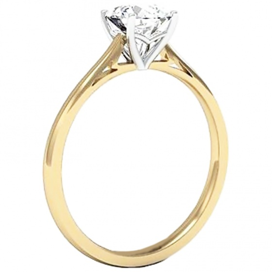 Nhẫn nữ bạc mạ vàng 14k - NNU50