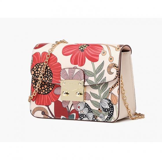 Túi Hộp Flora - Hoa đỏ - R12S402