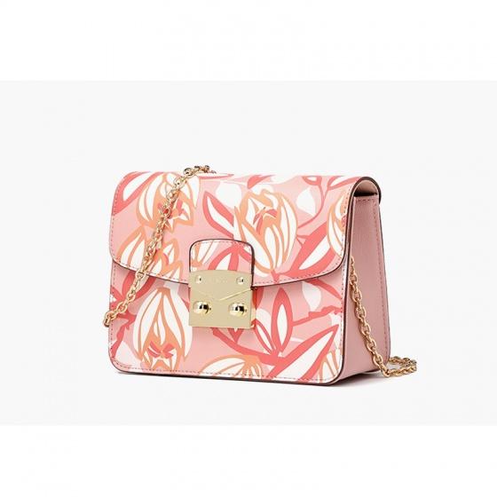 Túi hộp Flora - trắng hồng - C04S402