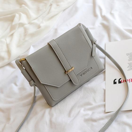 Túi đeo chéo nữ Vanoca VN152-Xám