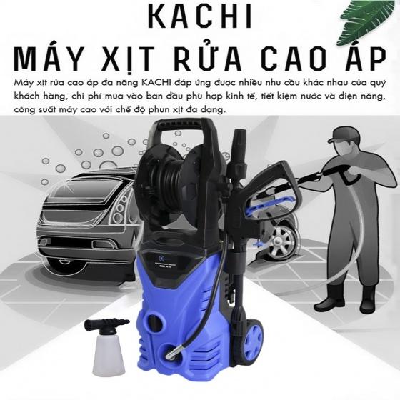 Máy xịt rửa xe cao áp Kachi MK104