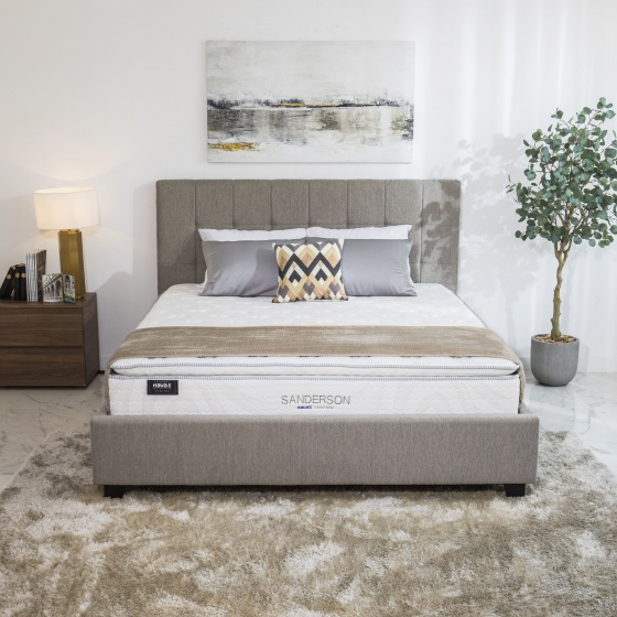Nệm lò xo túi Sanderson Luxury Havas 160x200x29 cm