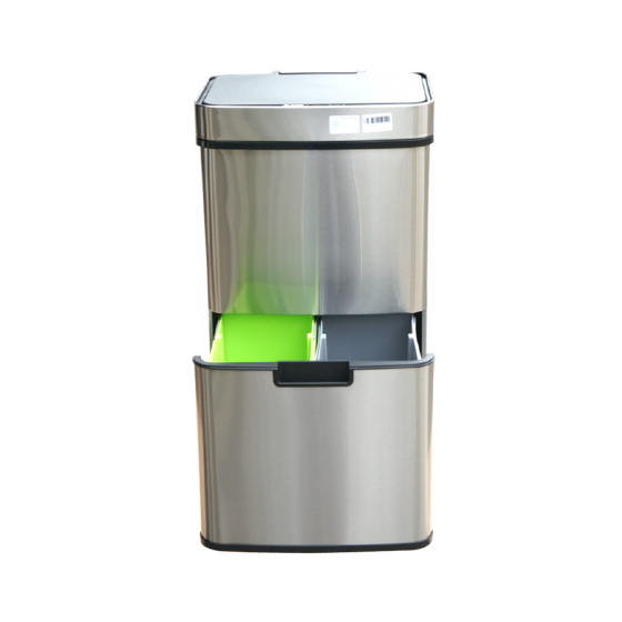 Thùng rác thông minh Shunda dùng pin 62L