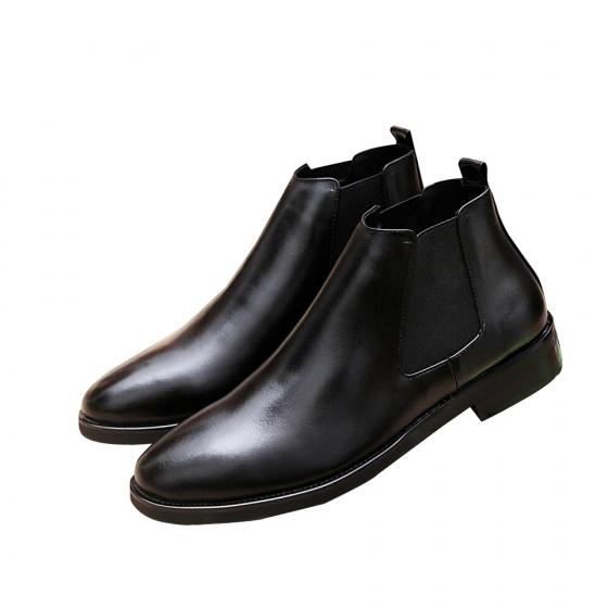 Giày cheslsea boots da bò nguyên tấm 2h - 53