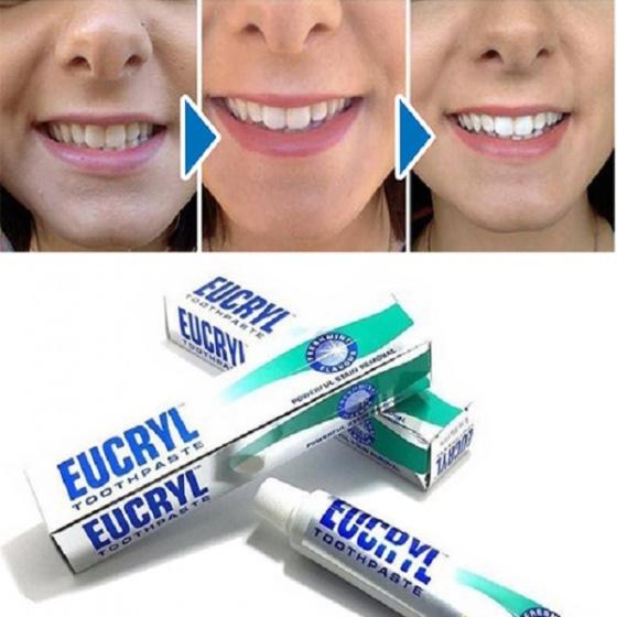 Kem đánh trắng răng Eucryl Toothpaste 50g