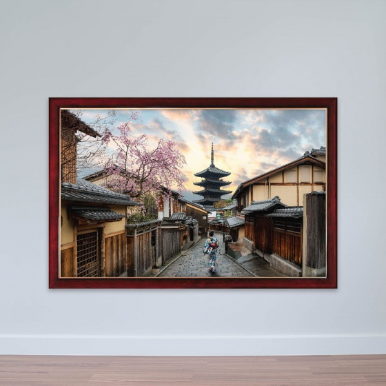 """Tranh chủ đề Nhật Bản """"Tháp Yasaka"""" tranh treo phòng họp W3150"""