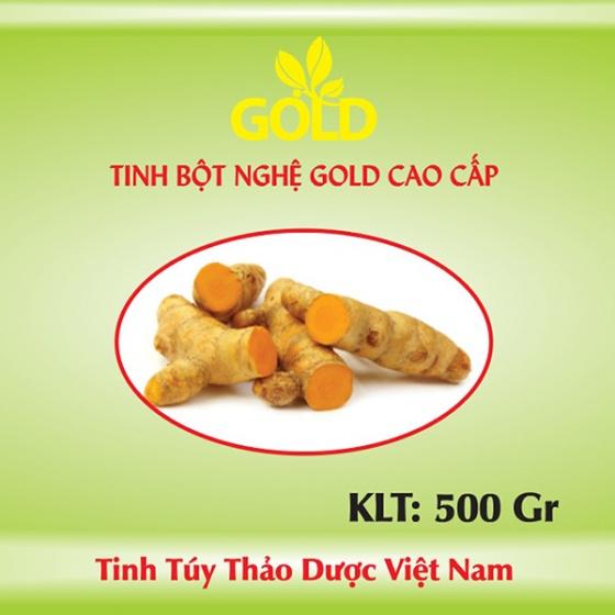 Tinh bột nghệ Gold cao cấp 500 gr
